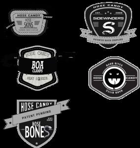 hose candy icons sidewinder barb bites boa skins bones rev2