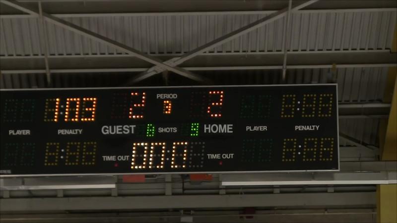 12-29-2012 vs South Delta 3rd Period Part 1