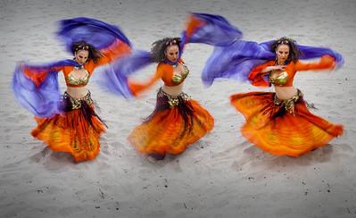 Lee Varis with Belly Dancers!  Photographer's Name: V S Photographer's City and State: Los osos, CA