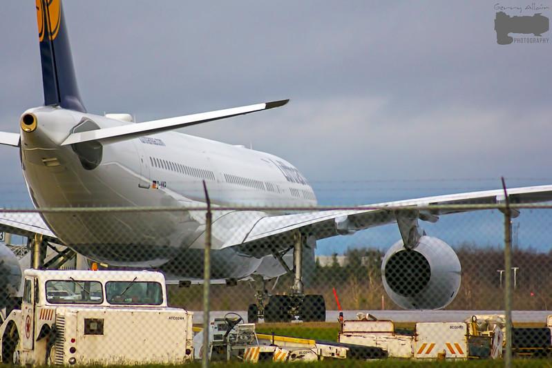 A Lufthansa A330-300 (D-AIKP, call sign-Lufthansa 428 Heavy) from Munich Germany MUC to Charlotte NC (Charlotte Douglas International CLT) makes an emergency medical landing at Moncton YQM