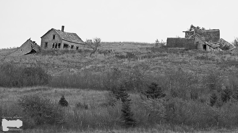 Beaumont Old House 01 b&w