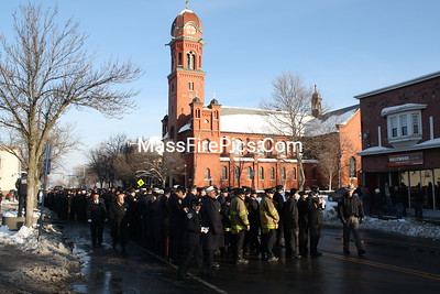 West Webster NY Firefighter Tomasz Kaczowka Funeral-Rochester, NY. 12/31/2012
