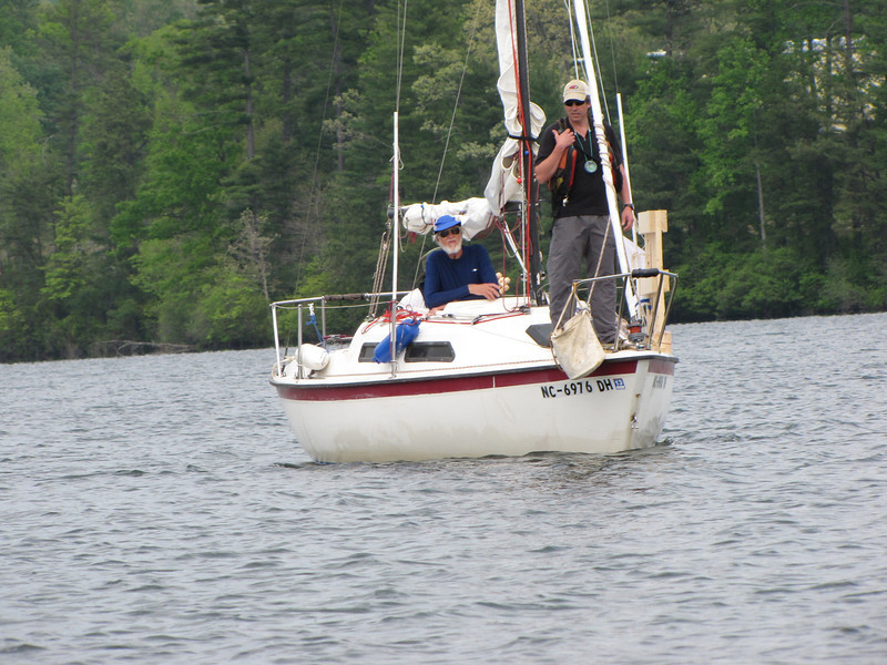 RC decides on a course of action after the mark boat lost its engine
