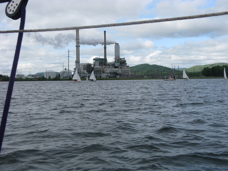 The Progress Energy smokestack tells all