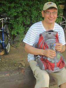 biking to Seoul Forest with Sabir