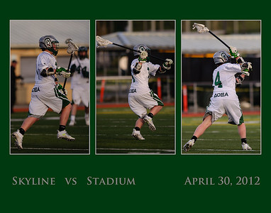 Skyline JV vs Stadium, 04-30-12