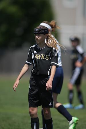 U12 Girls - Lyon Vs GR Pass Hawks - 1st Half