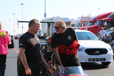 Top Alcohol Staging Lanes and Pits