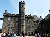 the Scottish Crown is contained here along with the exhibitions with manicans..no photos allowed of the Scottish Crown