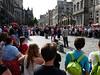 street performers on Royal Mile