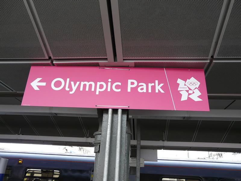 arrival at Stratford Station