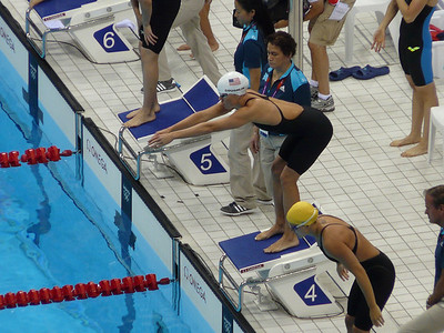 Natalie Coughlin 4X100 freestyle relay prelims