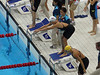 Natalie Coughlin 4X100 freestyle relay prelims