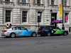 official cars on Whitehall