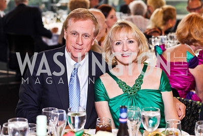 Rand and Leeda Allen. 10th Washington International Piano Artists Competition. Photo by Tony Powell. La Maison Francaise. August 5, 2012