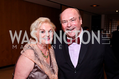 Portia and Mike Davidson. 10th Washington International Piano Artists Competition. Photo by Tony Powell. La Maison Francaise. August 5, 2012