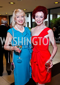 Joyce Hagel-Silverman, Elaine Tyrrell. 10th Washington International Piano Artists Competition. Photo by Tony Powell. La Maison Francaise. August 5, 2012