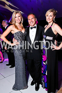 Vivian Leslie, Richard Scully, Sara Nielsen. Ball on the Mall. Photo by Tony Powell. May 5, 2012