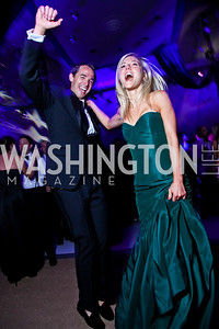 Ben and Sarah Sands. Ball on the Mall. Photo by Tony Powell. May 5, 2012