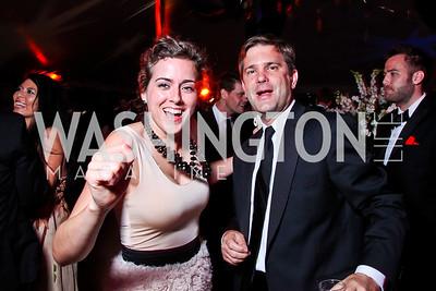Daniela Kelley, Todd Flournoy. Ball on the Mall. Photo by Tony Powell. May 5, 2012
