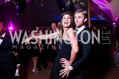 Kim and Matthew McIntyre. Ball on the Mall. Photo by Tony Powell. May 5, 2012