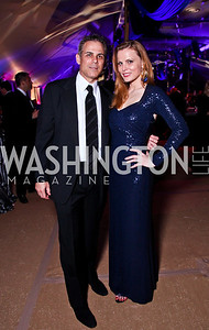 Curtis and Amanda Polk. Ball on the Mall. Photo by Tony Powell. May 5, 2012