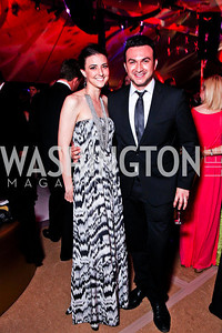 Kate Michael, Michael Woestehoff. Ball on the Mall. Photo by Tony Powell. May 5, 2012