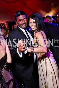 Peter Cherukuri, Christina Sevilla. Ball on the Mall. Photo by Tony Powell. May 5, 2012
