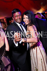 Peter Cherukuri, Christina Sevilla. Ball on the Mall. Photo by Tony Powell. May 5, 2012