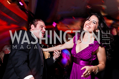Wright Sigmund, Natalie Grigorian. Ball on the Mall. Photo by Tony Powell. May 5, 2012