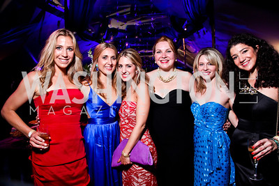 Eva Lea, Katie Beck, Marissa Mitrovich, Ryan Triplette, Elizabeth Ladt, Lauren Cozzi. Ball on the Mall. Photo by Tony Powell. May 5, 2012