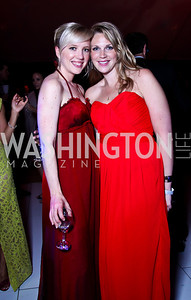 Meghan Gaines, Molly Wade. Ball on the Mall. Photo by Tony Powell. May 5, 2012