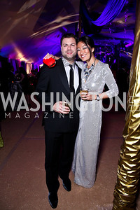 Jason Kampf, Pamela Sorensen. Ball on the Mall. Photo by Tony Powell. May 5, 2012