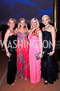 Lindsey Rohrig, Alexa Johnson, Josie Taylor, Christina Johnson. Ball on the Mall. Photo by Tony Powell. May 5, 2012