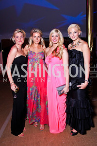 Lindsey Rohrig, Alexa Johnson, Josie Taylor, Christina Johnson. Ball on the Mall. Photo by Tony Powell. May 5, 2012