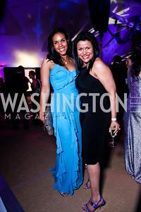 Marie Sylla-Dixon, Zahra Buck-Whitfield. Ball on the Mall. Photo by Tony Powell. May 5, 2012
