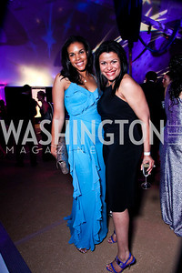 Marie Sylla-Dixon, Zahra Buck-Whitfield. Ball on the Mall. Photo by Tony Powell. May 5, 2012