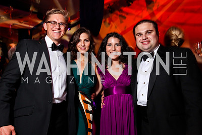 Chris Cruden, Susan Murray, Natalie Grigorian, Wright Sigmund. Ball on the Mall. Photo by Tony Powell. May 5, 2012