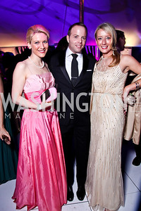 Katherine Boyle, Stacey Colescott, Liberty Jones. Ball on the Mall. Photo by Tony Powell. May 5, 2012