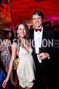 Cori Sue Morris, Brad Harris. Ball on the Mall. Photo by Tony Powell. May 5, 2012