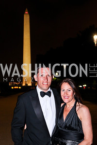 Lindsay and Shannon Stroud. Ball on the Mall. Photo by Tony Powell. May 5, 2012
