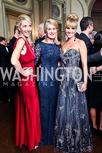 Loran Aiken, Sydney McNiff Johnson, Ashley Bronczek. Photo by Tony Powell. 2012 Meridian Ball. October 12, 2012