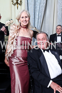 Willee Lewis, Peter Duchin. Photo by Tony Powell. 2012 Meridian Ball. October 12, 2012