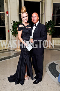 Rennee and Ted Austell. Photo by Tony Powell. 2012 Meridian Ball. October 12, 2012