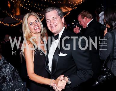 Kristen and Nels Olson. Photo by Tony Powell. 2012 Meridian Ball. October 12, 2012
