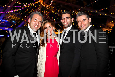 Jake Perry, Amanda Fox, Albert Fonticiella, Chris Edwards. Photo by Tony Powell. 2012 Meridian Ball. October 12, 2012