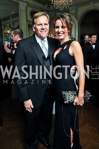 Congressman Mike and Kristi Rogers. Photo by Tony Powell. 2012 Meridian Ball. October 12, 2012