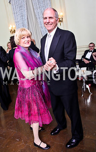 Pam Peabody, Brent Glass. Photo by Tony Powell. 2012 Meridian Ball. October 12, 2012