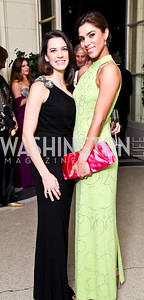 Kelly Paize, Reem Sadik. Photo by Tony Powell. 2012 Meridian Ball. October 12, 2012