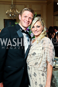Lance Rozeboom, Kristin Kooima. Photo by Tony Powell. 2012 Meridian Ball. October 12, 2012